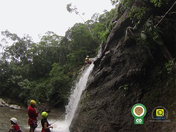 Canyonig-cascadas-villeta