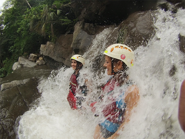 Canyoning-cascadas